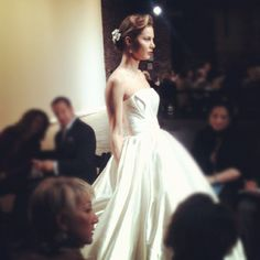 Love gowns with pockets. @inesdisantoss2013 #bridalmarket