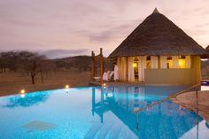 Game lodge, Tsavo National Park, Kenya
