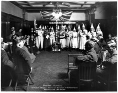 Imperial Kouncil of Kanadian Knights of the Klan VPL Accession Number: 8956D Date: 1925 Photographer/Studio: Frank, Leonard Content: Group portrait in interior of the house at 1690 Matthews Street, known as 'Glen Brae' and 'Tait House'. http://www3.vpl.ca/spe/histphotos/