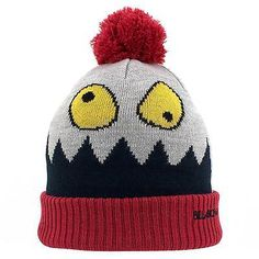 #Billabong novelty #beanie red new hat winter boys ski #snowboard,  View more on…
