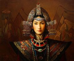 """Absolutely stunning work by Dongmin Lai ... gorgeous rich colours, the strength and calm behind his subject says """"fearless"""" to me  .. love it!"""