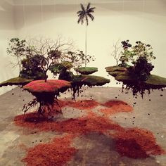 Suspended gardens #mini #garden #art #instalation #sp #arte