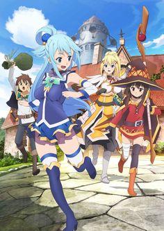 KonoSuba. Anime e mangá.