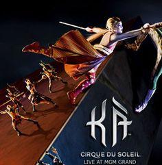 KA | shows en las vegas  Entre los shows en las vegas de Cirque du Soleil en verdad este rompe el modelo con KA ™. Un escenario vertical es trono de este show en las vegas de artes marciales, impresionantes iniciativas atléticas, y una historia de familia linear con toques creativos por doquier.   http://lasvegasnespanol.com/shows/ka.php