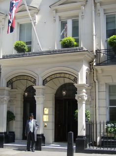 Brown's Hotel | London's first hotel. Opened in 1837  Had afternoon tea here with Kim.