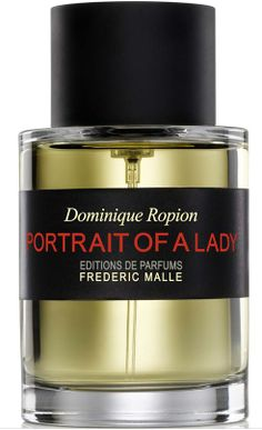 Frederic Malle Portrait of A Lady  Perfume notes: benzoin, musk, sandalwood, patchouli, incense, white musk cocktail, Turkish rose essence, rose absolute, cinnamon, clove, red berries accord, blackcurrant.