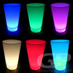 8 color and light modes all in one cool glowing Party Cup! - https://glowproducts.com/us/led-glow-party-cups