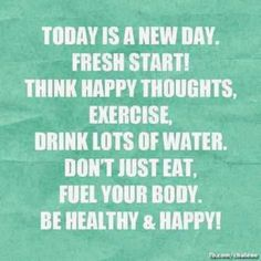 Everyday is a new chance to improve myself