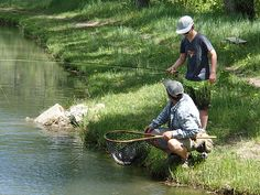 Fly fishing at Smith Fork Ranch in Colorado - a sublime family vacation destination in the summer months.