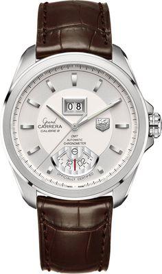 TAG Heuer Watch Grand Carrera GMT Grande Date Calibre 8