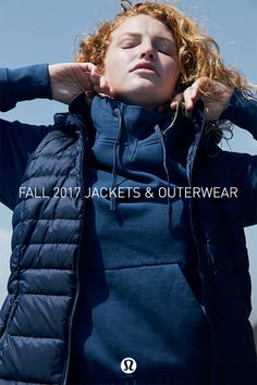 Lululemon down jackets and outerwear are beautifully designed for warmth and form-flattering style. Intuitive details like water repellent fabric, 700-fill and certified responsible down protect you from the elements. Layer outerwear over your favorite hoodie or use the hidden drawstring to cinch it for a custom fit.