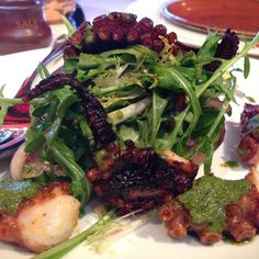 Wood Grilled Octopus - Bottega - Zmenu, The Most Comprehensive Menu With Photos