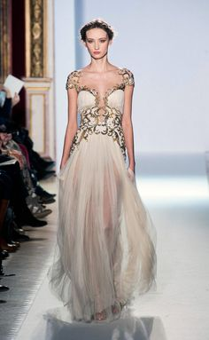 Inspiración helénica en los vestidos de Zuhair Murad (SS 2013) #novias #vestidosdenovia