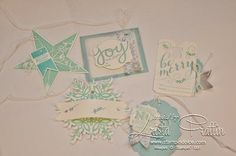 Stampin' Dolce: Stampin' Up! Winter Frost Christmas Gift Tags