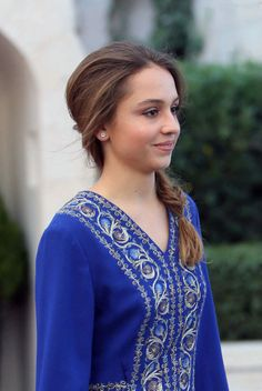 Jordan Princess Iman, 17, daughter of King Abdullah II and Queen Rania, during the celebrations of the Jordanian national holiday on 25.05.2014, on the 68th anniversary of the independence of the Kingdom, at the Amman Raghadan Palace.
