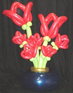 balloon flowers :)
