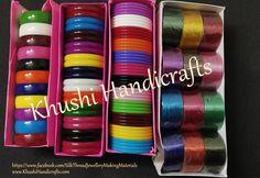 Buy Bangle Bases Full Box for Silk thread Jewellery Online! Silk Bangles, Thread Bangles, Thread Jewellery, Jewellery Making, Gold Jewellery, Silk Thread, Crystal Earrings, Handicraft, Handmade Jewelry
