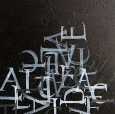 'Alice'  Done by Cecile Walters  Acrylic on wood  204x204mm  Price on request.  See more at www.letterdance.co.za