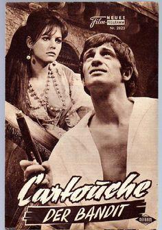 CARTOUCHE, DER BANDIT / NFP 2823 Wien / Jean-Paul Belmondo, Claudia Cardinale | eBay