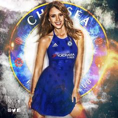 Jessica Alba - Chelsea FC Supporter (we wish 🙏🏼) Chelsea Match, Chelsea Blue, Chelsea Fans, Chelsea Football, Football Ticket, Football Girls, Isco Real Madrid, Stamford Bridge, West London
