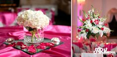I love the centerpiece on the left