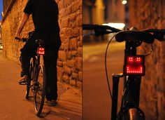 The Bike Dock is constructed from ABS plastic and hooks up to the bicycle's dynamo using a USB socket in the back of the light. It can even be plugged into a home computer and be programmed via web-based software.