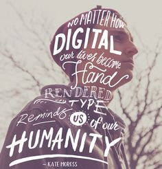 Print Magazine Designer of the Week: Ian Barnard. humanity-hand-lettering6