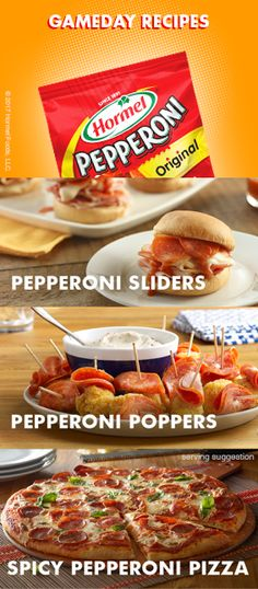 Shoot for Three Great GameDay Recipes