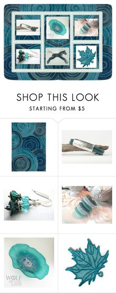 """Teal Gifts!"" by keepsakedesignbycmm ❤ liked on Polyvore featuring Kathy Ireland, jewelry, accessories and decor"