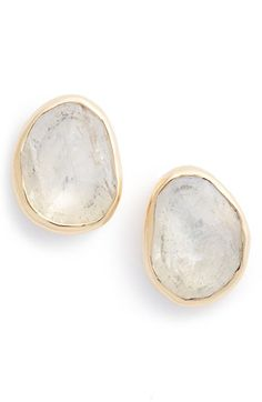 Melissa Joy Manning Moonstone Earrings available at #Nordstrom