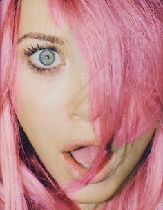 In another life I will have pink hair. Or when I am a little old lady.