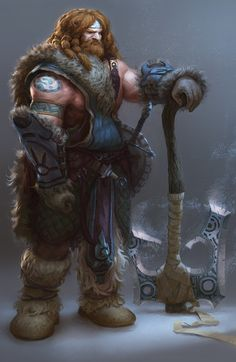 ArtStation - Warrior, Steven Tobiasz
