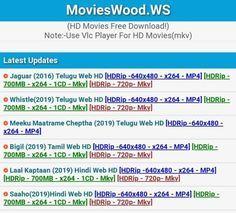 Movieswood 2020: Download free Movieswood Telugu, Movies wood Tamil,  Malayalam, Odia, Marathi, Punjabi, Movies wood… in 2020 | Telugu movies  download, Telugu movies, Movies