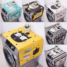 Dual-purpose Linen Dust Cover Washing Machine