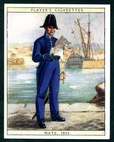 Cigarette Card - Mate 1833 | Flickr - Photo Sharing!
