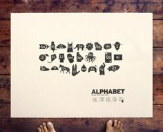 ALPHABET (2009) – x / 175  xylene transfer on paper, 30 x 22 inches  signed & numbered