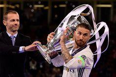 Sergio Ramos Real Madrid Champions League duodecima 12 Cardiff 2017