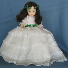 Vintage Madame Alexander Dolls      Gone With The Wind ..Scarlett...first doll I started my collection with....