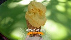 Prepara un helado vegano de mango y camote