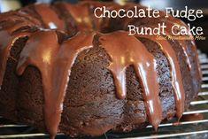 Semi Homemade Mom: Crazy Cooking Challenge: Chocolate Fudge Bundt Cake