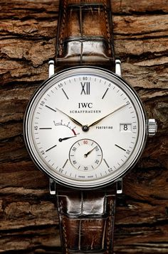 IWC Schaffhausen Portofino. | Raddest Men's Fashion Looks On The Internet…
