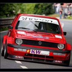 Wide and low mk1 Golf