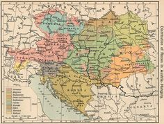 Slightly over 100 years ago, one of the most important countries in European history disappeared forever. Austria-Hungary (or the Austro-Hungarian Empire) had existed since the political reforms of… Bratislava, Budapest, Hungary Travel, Map Wallpaper, Austro Hungarian, Old Maps, Vintage Maps, European History, Historical Maps