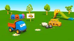 Cartoni Animati per bambini - Leo il Camion Curioso e il Taxi
