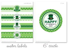 FREE! St. Patrick's Day printables at HowDoesShe | Chickabug