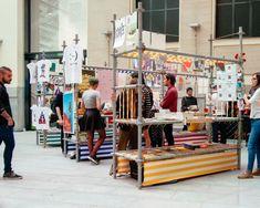 POP-UP STORES! Libros Mutantes at La Casa Encendida by Cuarto Orden, Madrid – Spain » Retail Design Blog
