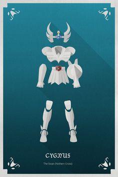 Les chevaliers du zodiaque en Flat Design | w3sh.com Retrouvez les DVD des chevaliers du zodiaque en intégral