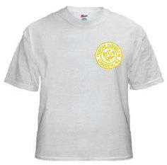 White Shirt Golden Circle, Mens Tops, T Shirt, Fashion, Supreme T Shirt, Moda, Tee Shirt, Fashion Styles, Fashion Illustrations