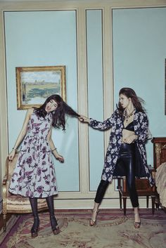 BB Dakota Fall 2015 Lookbook feat. Luma Grothe & Anais Pouliot // Photo by Zoey Grossman