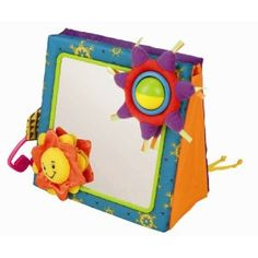 All of my kids loved their crib mirror -- lots of fun toys, and their own reflections!